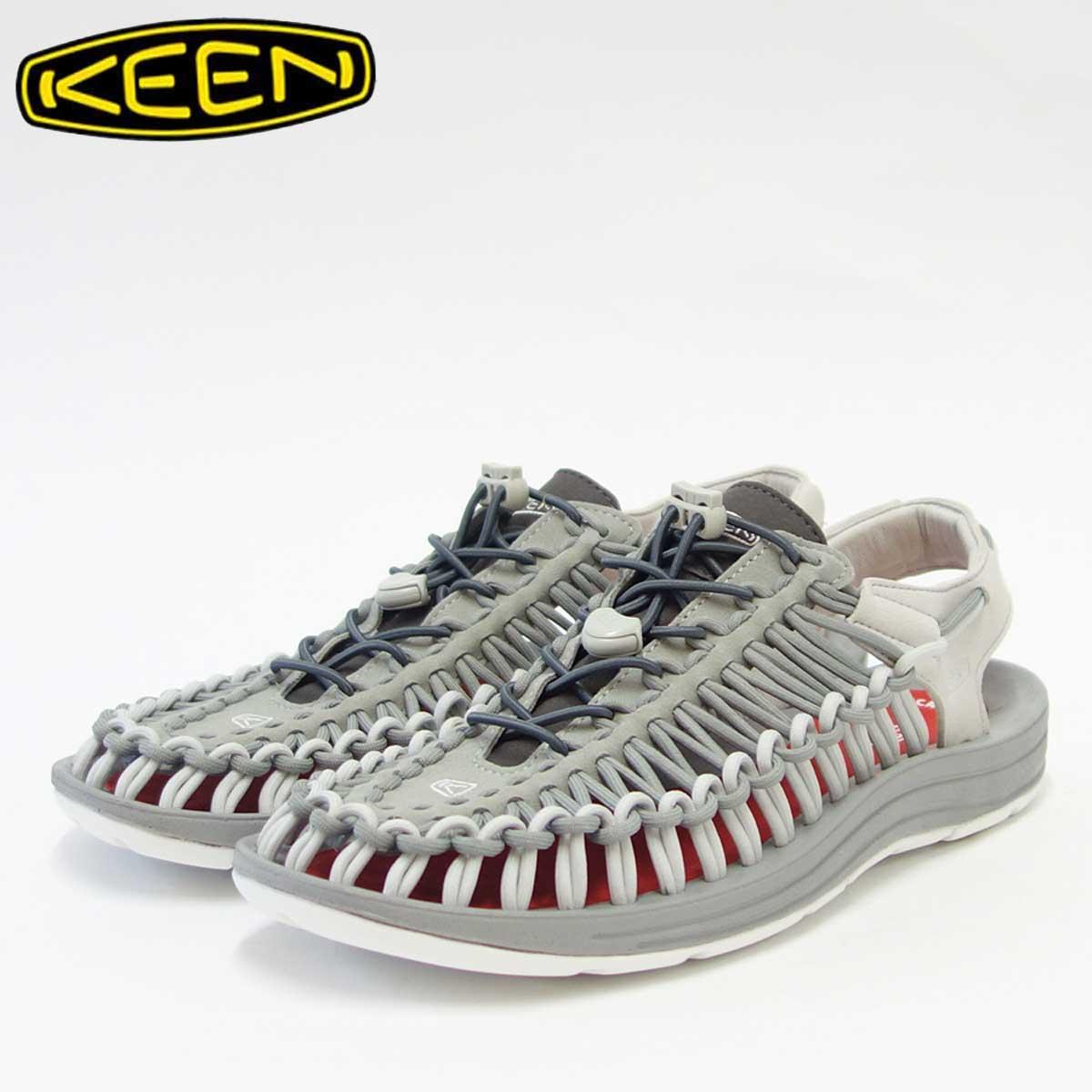 KEEN キーン UNEEK(ユニーク) 1018681(メンズ)キーン独自のハイブリッドサンダル カラー:Neutral Gray / Eiffel Tower「靴」