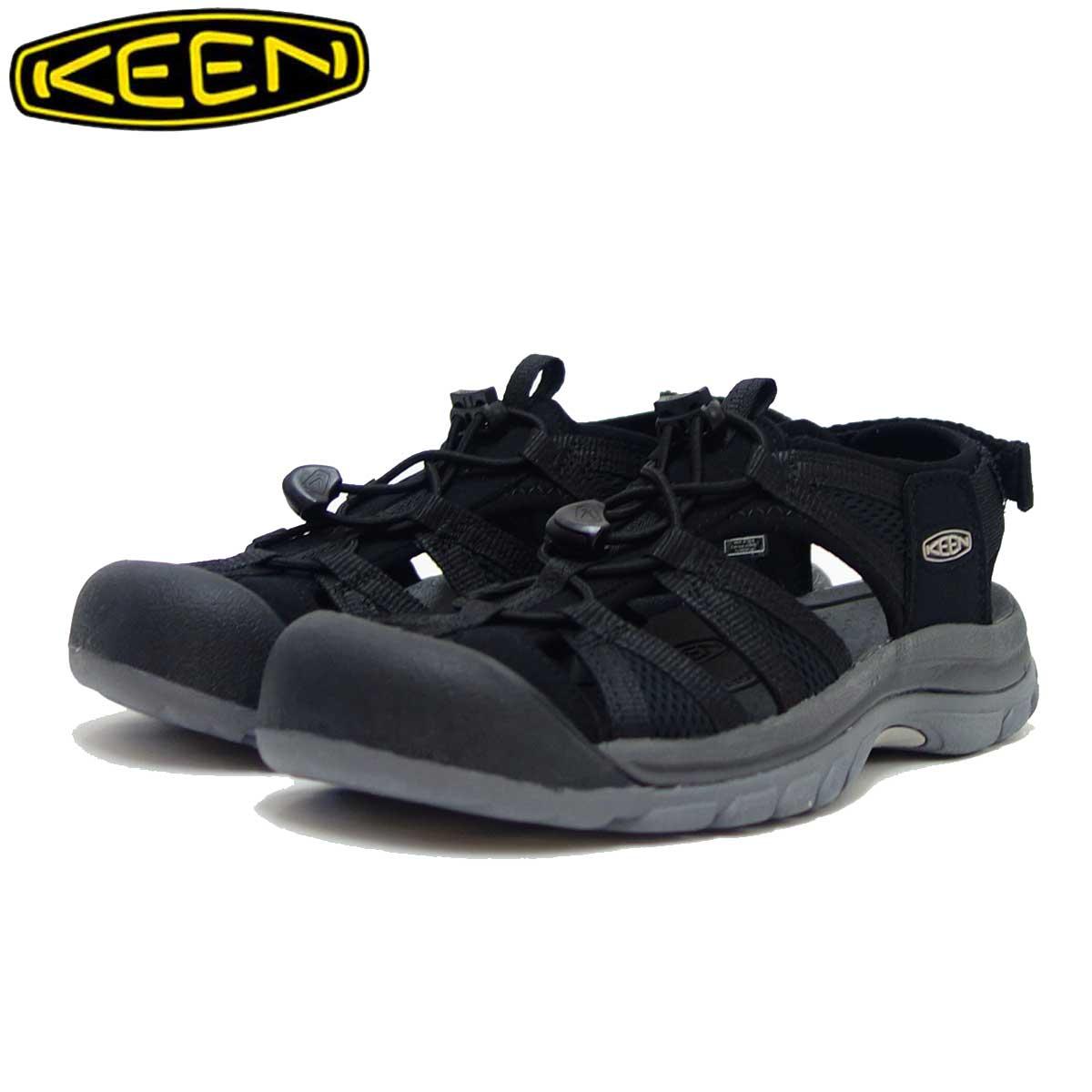 KEEN キーン VENICE 2 H2 ベニス ツー エイチ ツー 1018846(レディース)カラー :Black / Steel Grey 「靴」