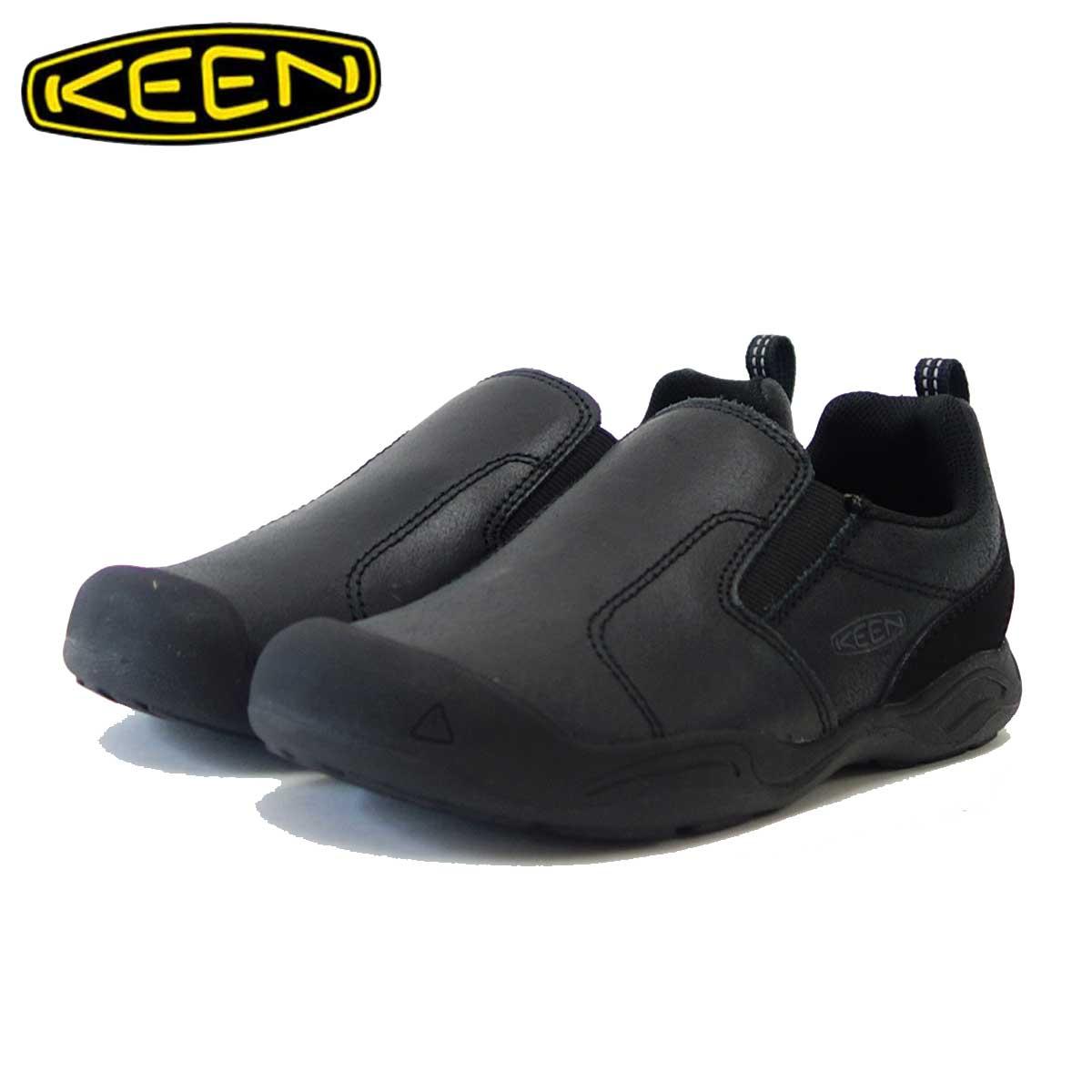 キーン KEEN KIDS Jasper Slip-ON 1019722(キッズ)1019718 ジャスパー スリップオン カラー:Black / Raven 多目的なアウトドアスニーカー 「靴」