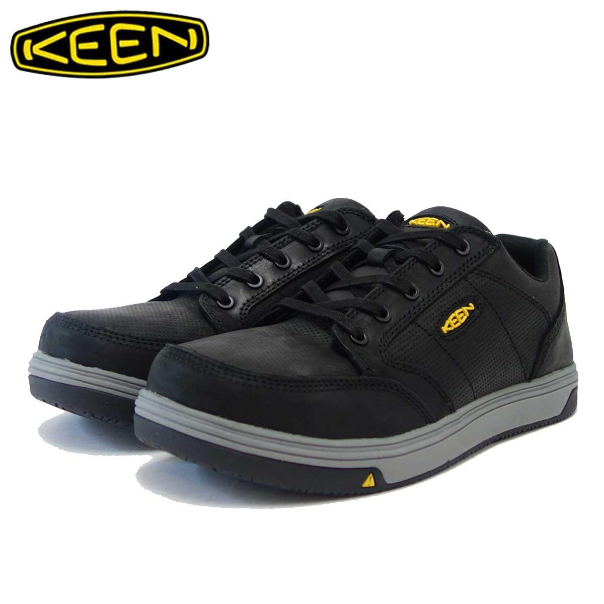 キーン KEEN レディング エーティー 1020074 ブラック/グレー(メンズ)工事現場用ワークシューズ 安全靴「靴」