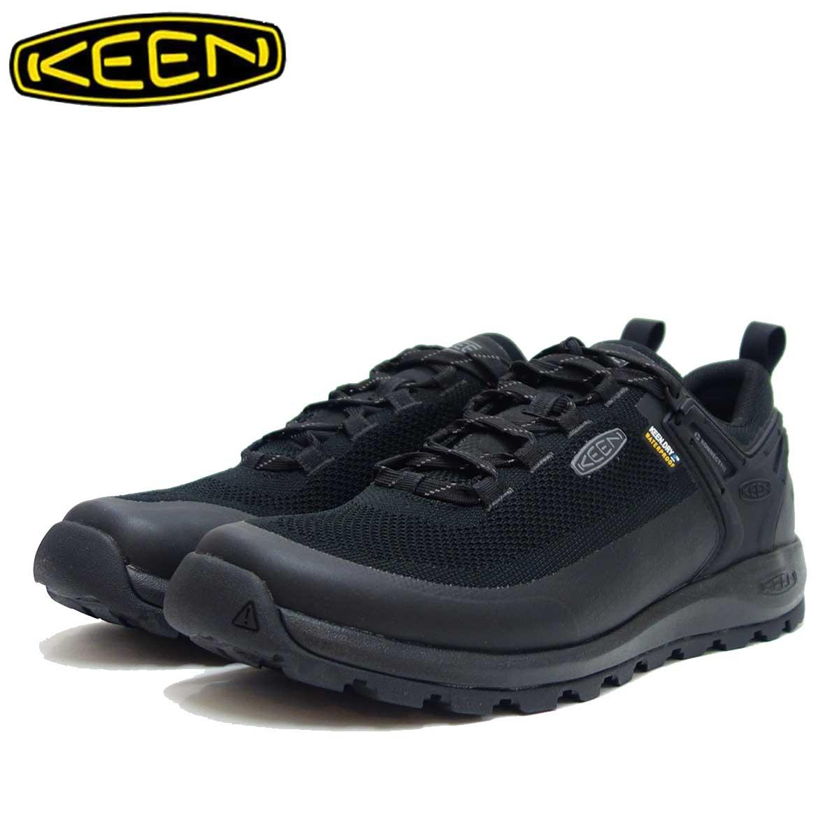 KEEN キーン Citizen EVO WP 1021159(メンズ) ブラック シティズン エヴォ ウォータープルーフ 「靴」