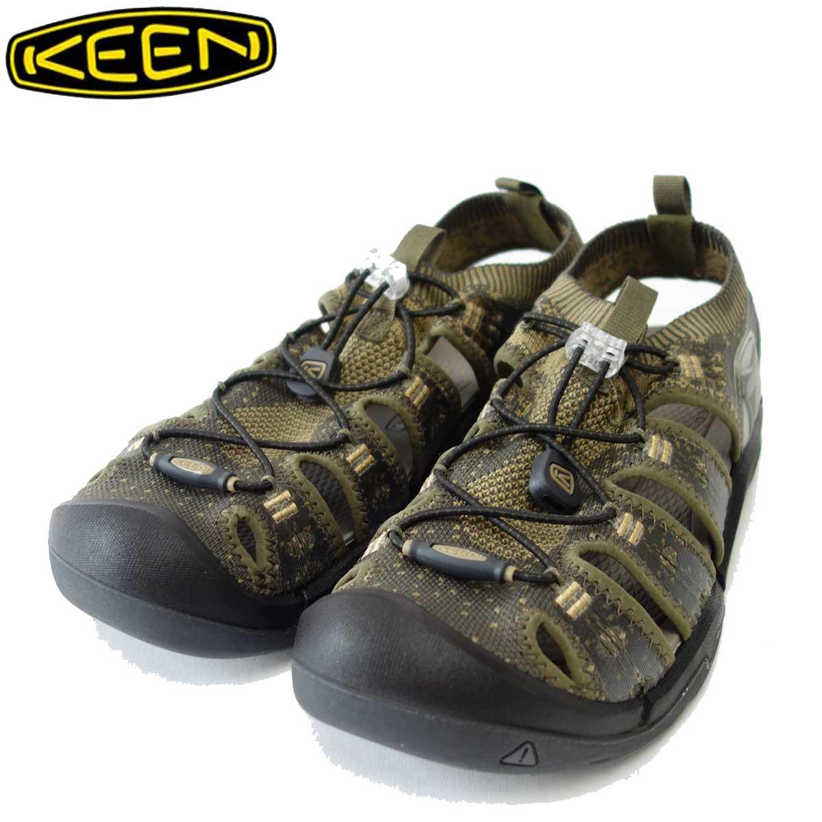 KEEN キーン EVOFIT 1 (エヴォフィット ワン) 1021388(メンズ)カラー:Dark Olive / Antique Bronze 「靴」