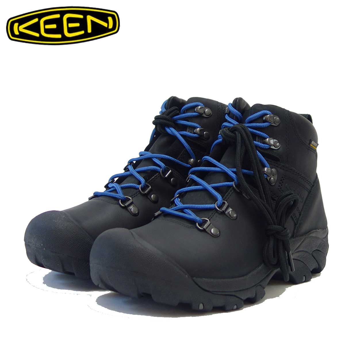 KEEN キーン Pyenees 1021609 ピレニーズ カラー:Black / Galaxy Blue(メンズ)「靴」