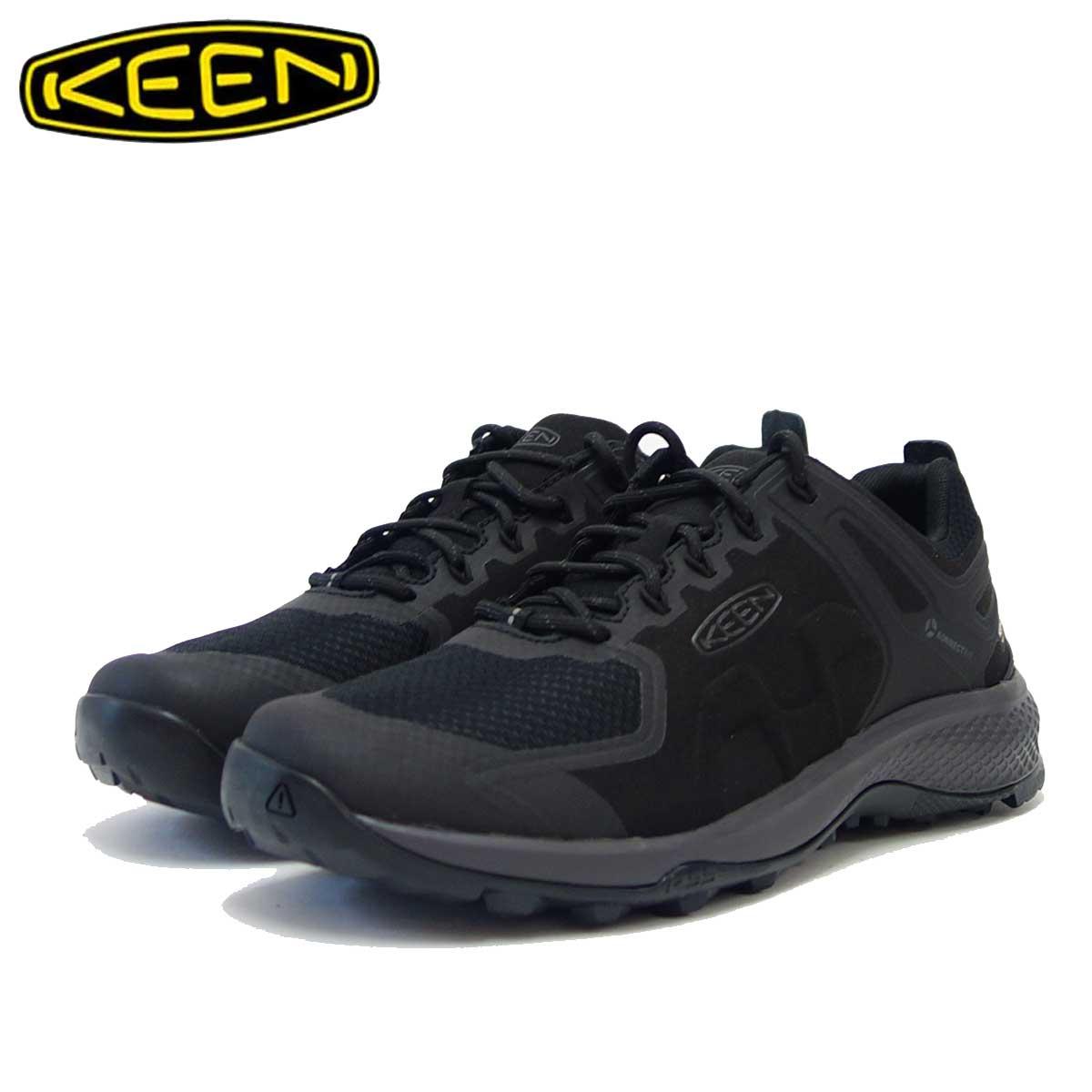 KEEN キーン EXPLORE WP 1021611(メンズ) ブラック エクスプロール ウォータープルーフ 「靴」