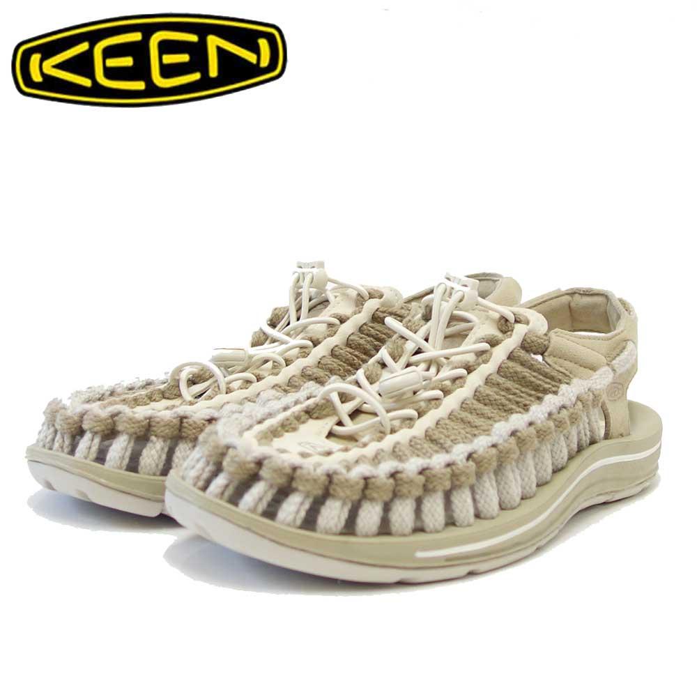 KEEN キーン UNEEK FLAT(ユニーク フラット) 1023063(メンズ) カラー:Safari / Silver Birch 「靴」