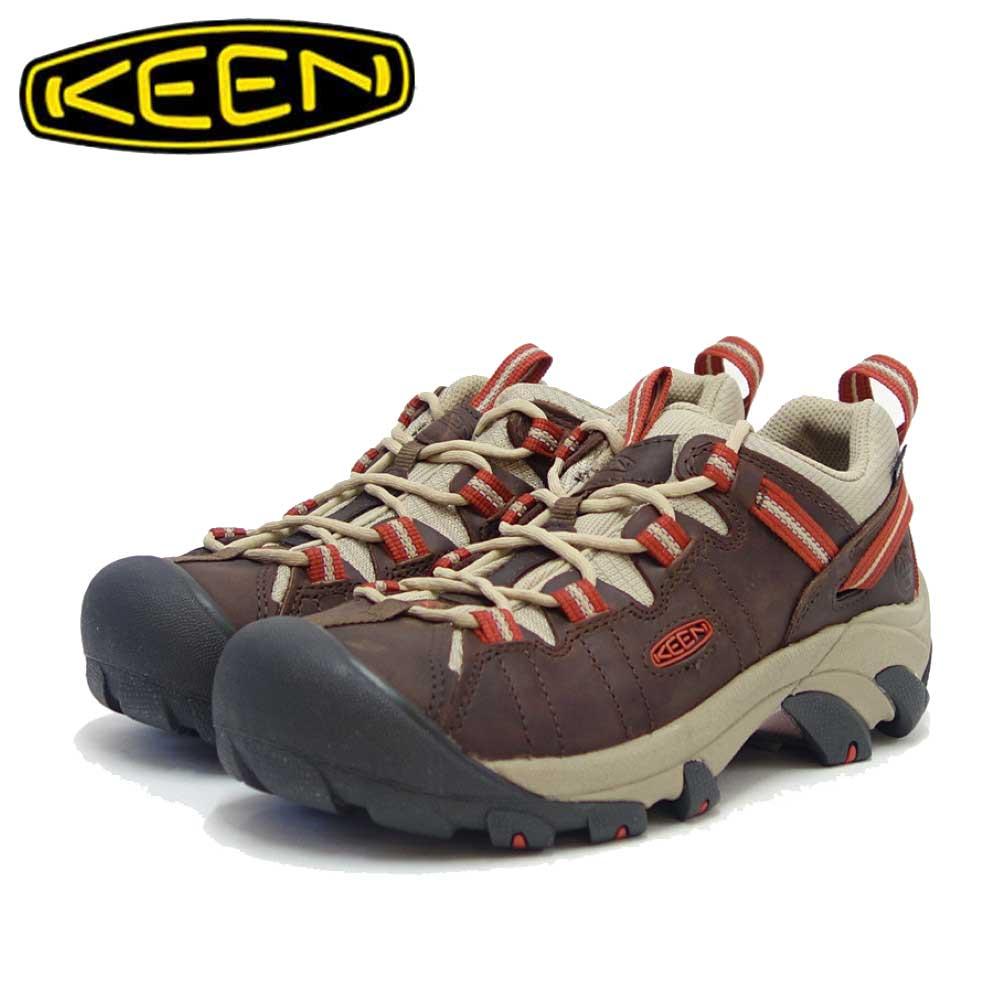KEEN キーン TARGHEE WP LTD ターギー ウォータープルーフ リミテッド 1024074(レディース)カラー:Bison / Bossa Nova 防水 アウトドア スニーカー ウォーキング「靴」