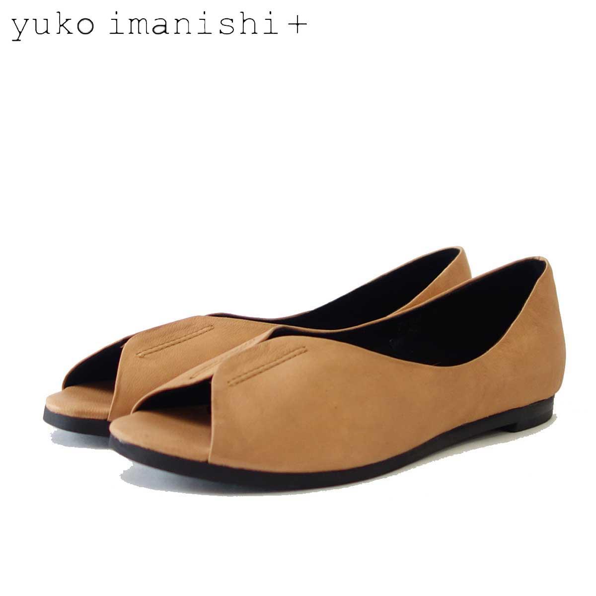 ユーコ イマニシ yuko imanishi +  791037 ブラウン オープントゥ カッターシューズ 「靴」