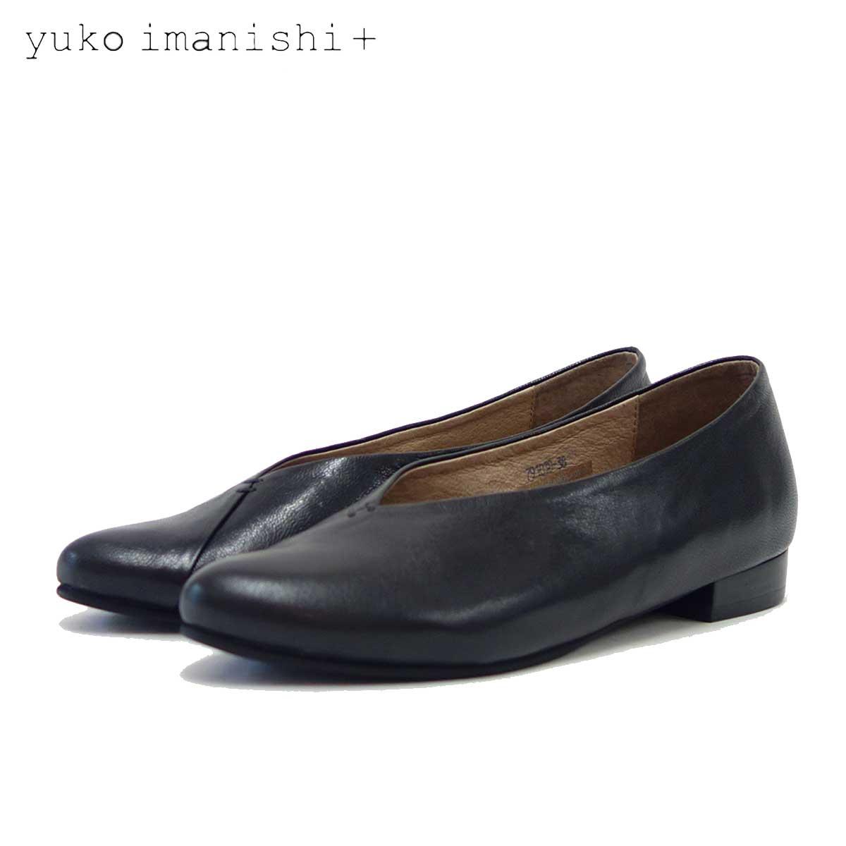 ユーコ イマニシ yuko imanishi +  791038 ブラック Vカット カッターシューズ 「靴」