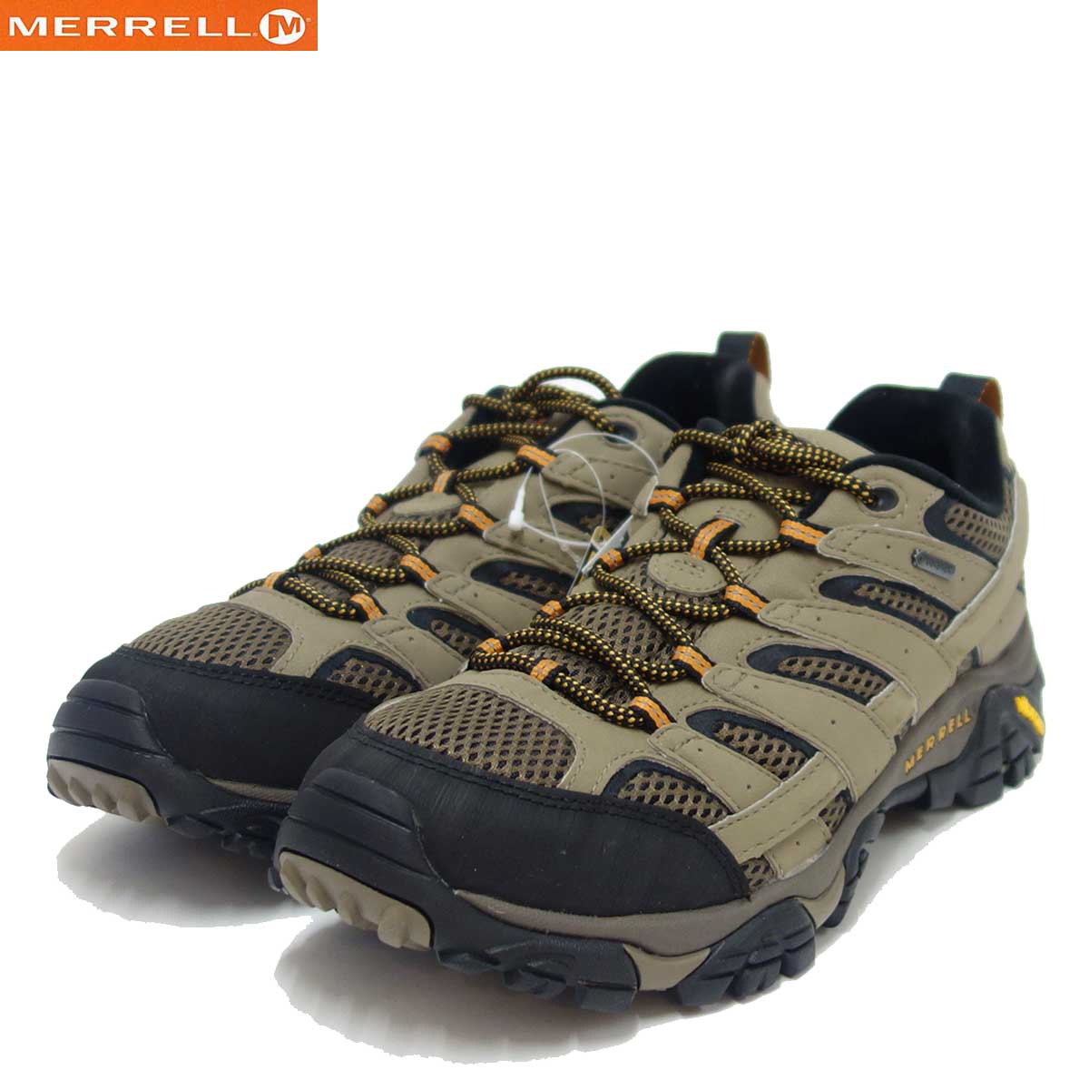 MERRELL メレル (メンズ)06035(Walnut)モアブ 2 ゴアテックスゴアテックス内蔵・通気性メッシュ軽量アウトドアシューズビブラムソールで快適ウォーク「靴」