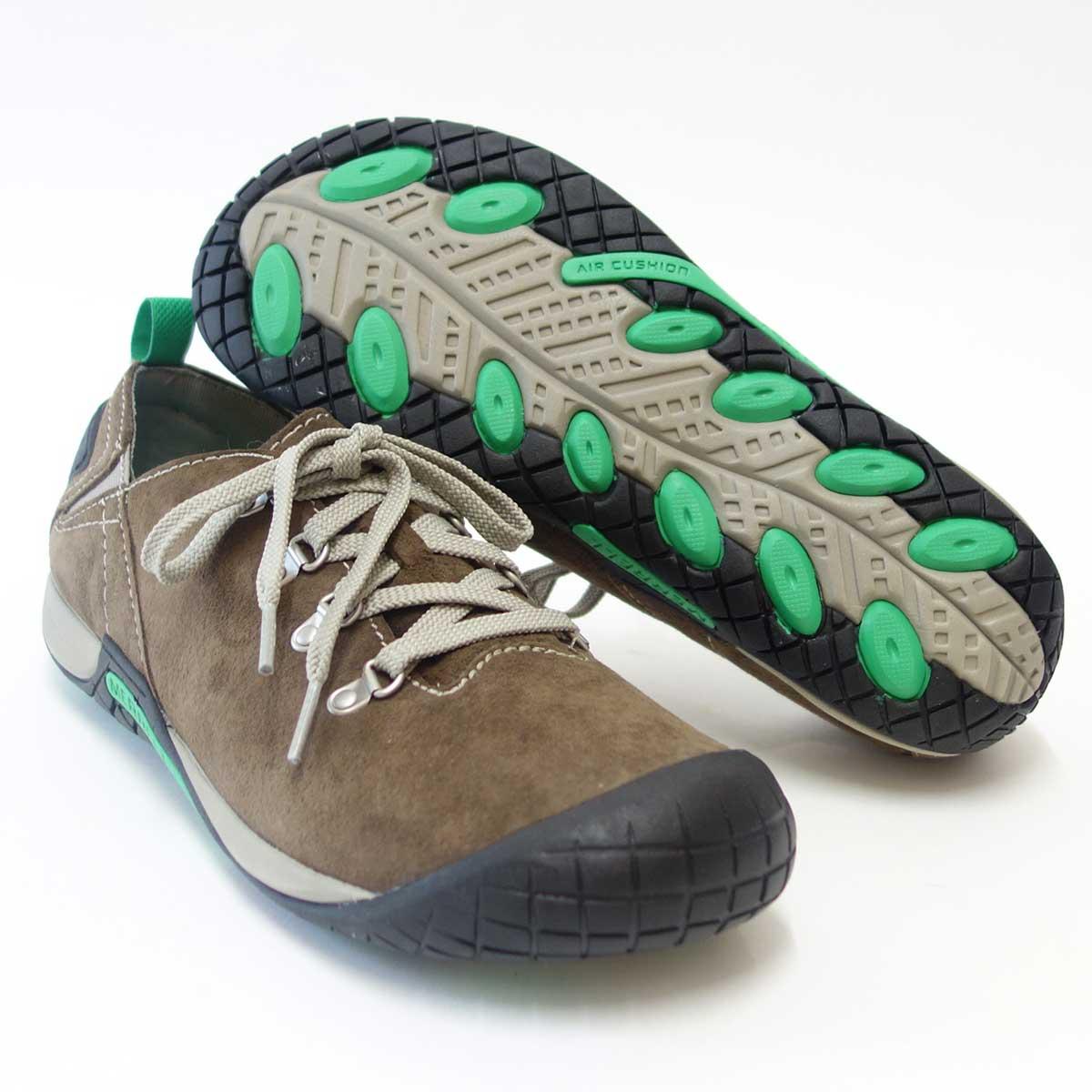 自然にフィットする快適カジュアル靴MERRELL メレル パスウェイレース(メンズ)Merrell Stone 41565 エアークッションで快適ウォーク「靴」