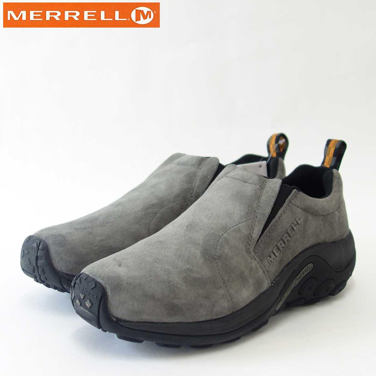 MERRELL メレル ジャングルモックJungle Moc60805 ピューターPEWTER(メンズ)エアークッションで快適ウォーク「靴」