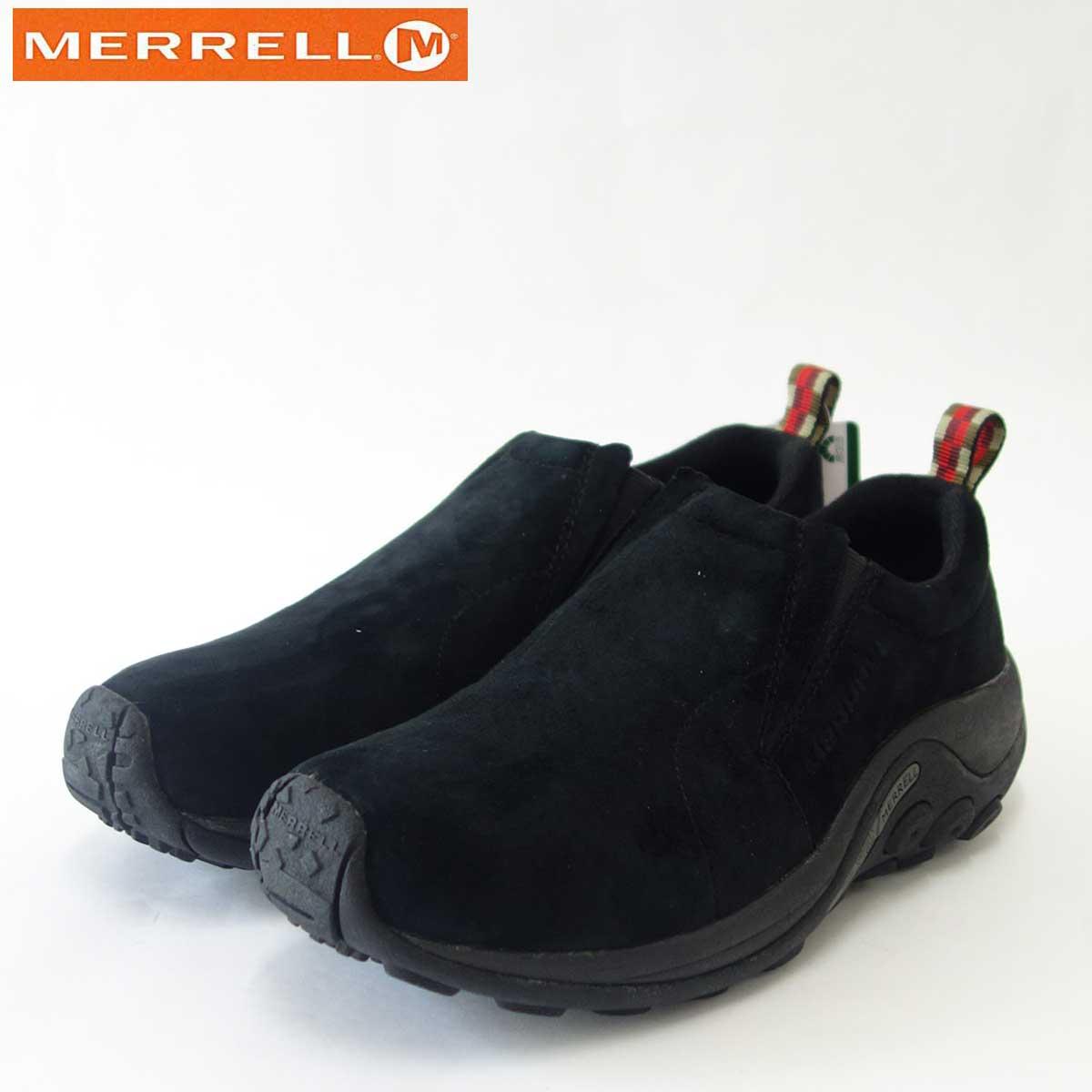MERRELL メレル ジャングルモックJungle Moc(メンズ)60825 ミッドナイトエアークッションで快適ウォーク「靴」