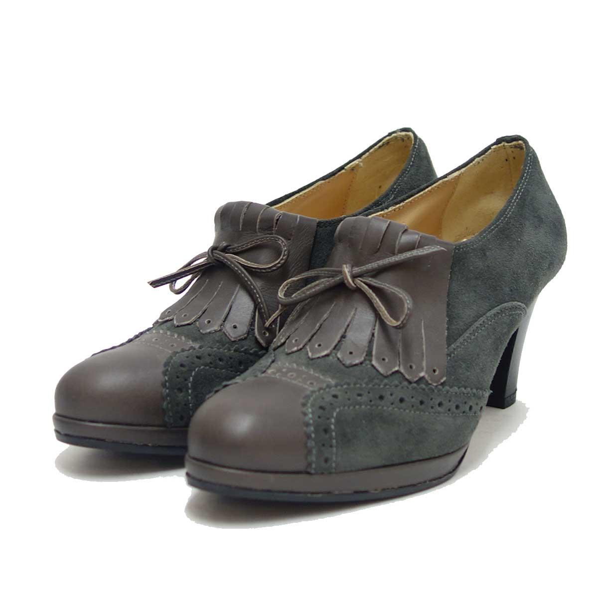MissClair ミスクレア 7185 グレースエード(イタリア製) スムーズに足に馴染むドレスコンフォートシューズ「靴」