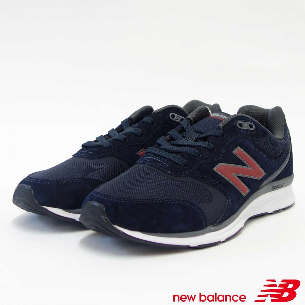 ニューバランス new balance MW880 NV4 ネイビー/レッド(メンズ)4E幅「靴」