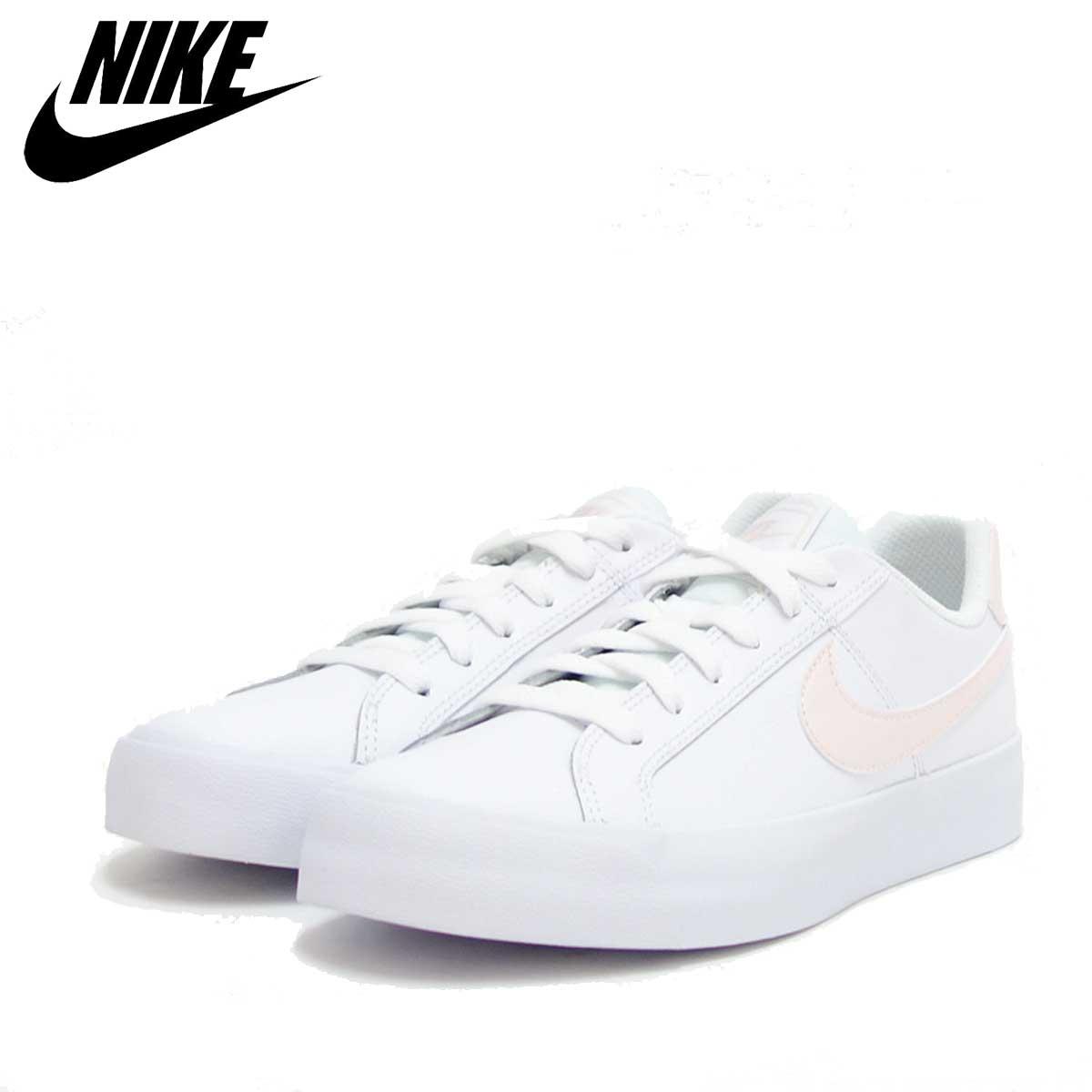 ナイキ NIKE コート ロイヤル AC ウィメンズ AO2810 110 ホワイト/L.S.ピンク WMNS COURT ROYALE AC 「靴」