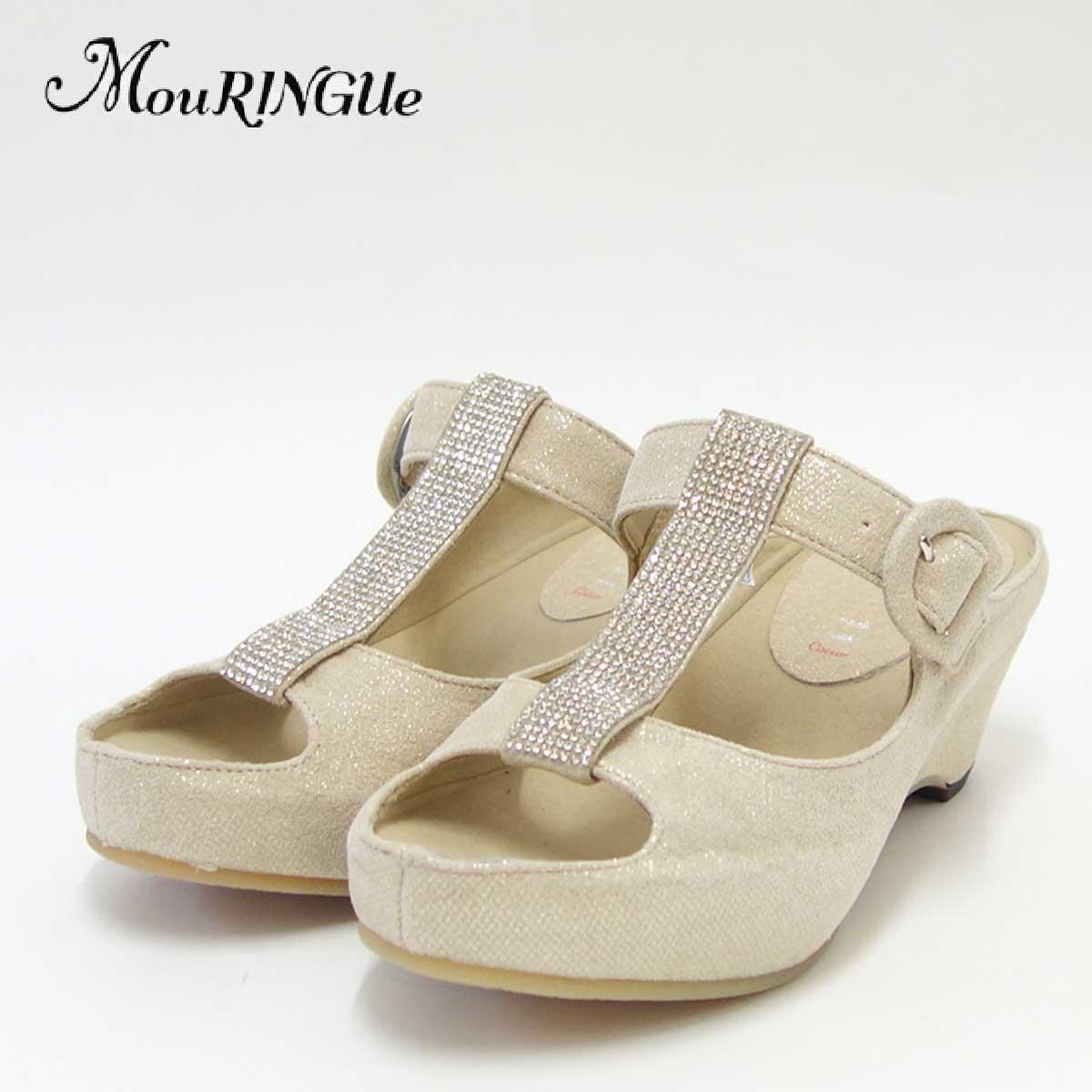 『MouRINGUe ムラング』Coeur568002 LGO(日本製)快適クッションミュール「靴」