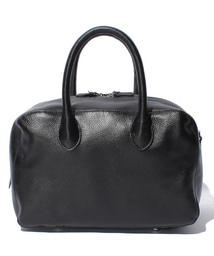 JiJi travail ジジ トラヴァイユ755043 ブラック(日本製)レザーボストンバッグ