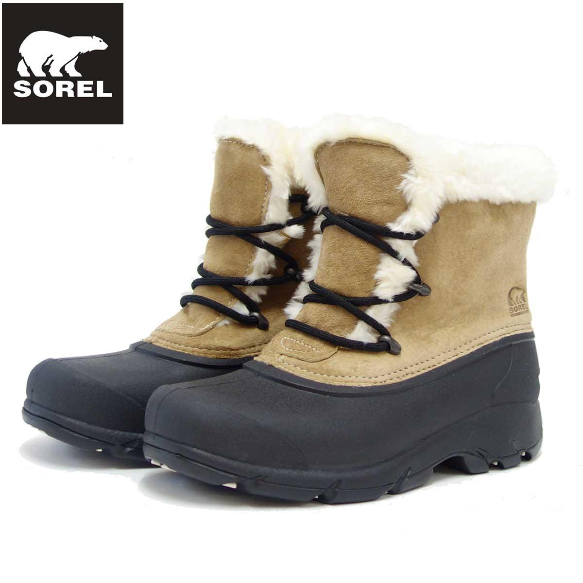ソレル SOREL NL 1810(レディース) スノーエンジェルレース:Rootbeer (234) 保温性・撥水性抜群の快適ウィンターブーツ 「靴」