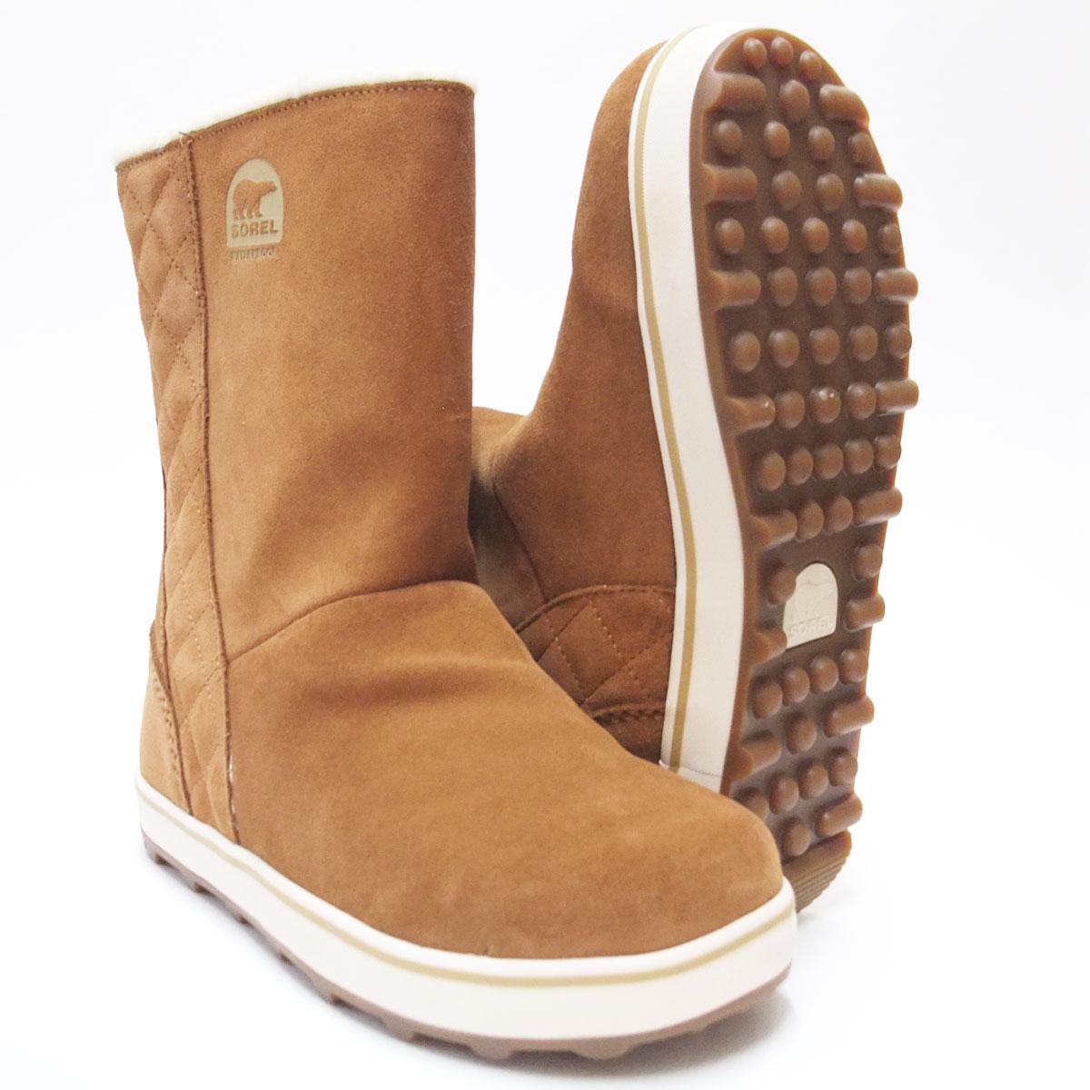 保温性・撥水性抜群の快適ウィンターブーツSOREL ソレル NL1975(レディース)グレイシー:ELK(286)「靴」