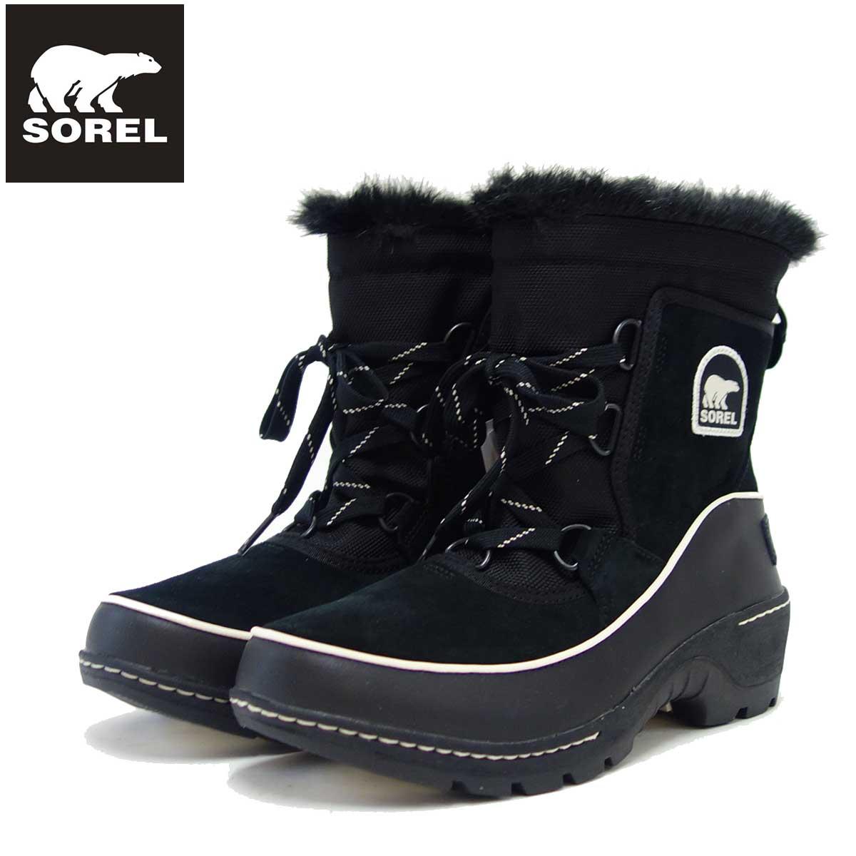 ソレル SOREL NL 2532(レディース) ティボリ3:ブラック (010) 保温性・撥水性抜群の快適ウィンターブーツ 「靴」