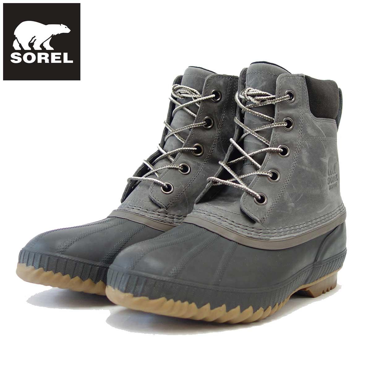 ソレル SOREL NM2575(メンズ)シャイアン 2 :Quarry/Buffalo(052) 保温性・防水性抜群の快適ウィンターブーツ 「靴」