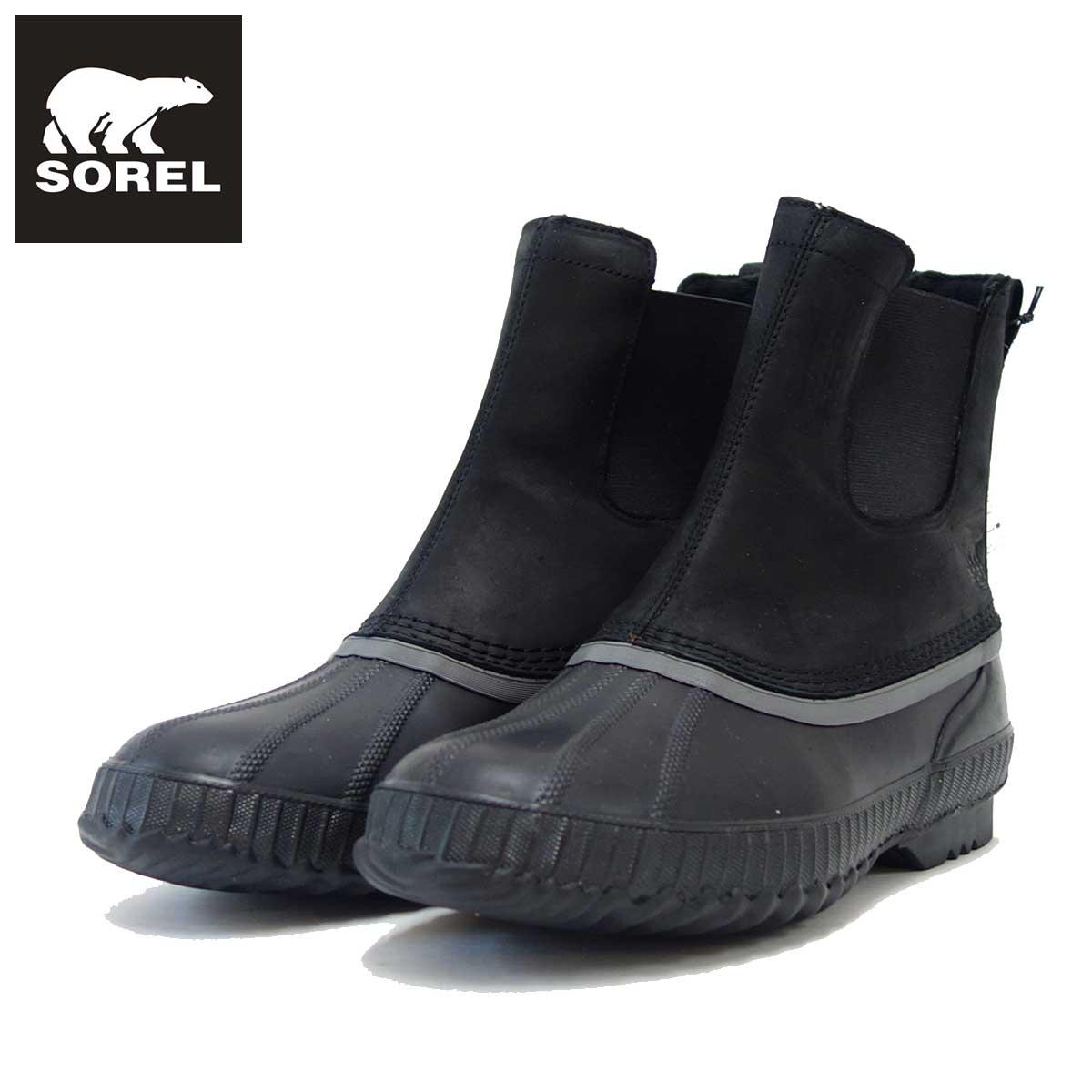 ソレル SOREL NM2609(メンズ) シャイアン 2 チェルシー:ブラック/ダークグレー(010) 保温性・防水性抜群の快適ウィンターブーツ 「靴」