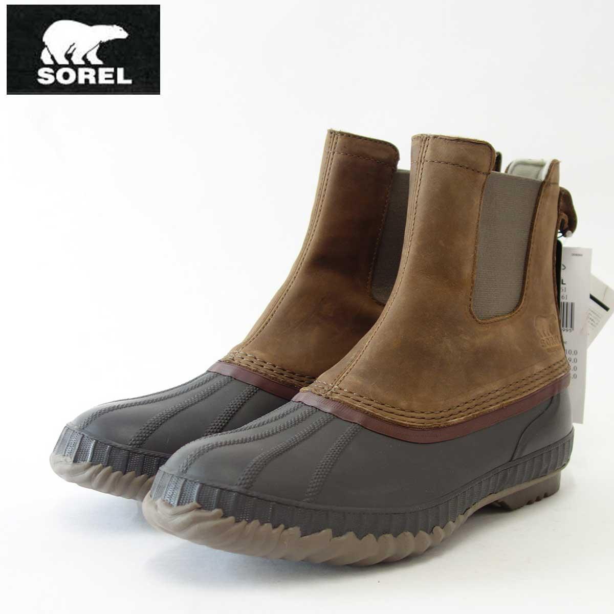 SOREL ソレル NM2609(メンズ)シャイアン 2 チェルシー:Umber/Buffalo(261)保温性・防水性抜群の快適ウィンターブーツ「靴」