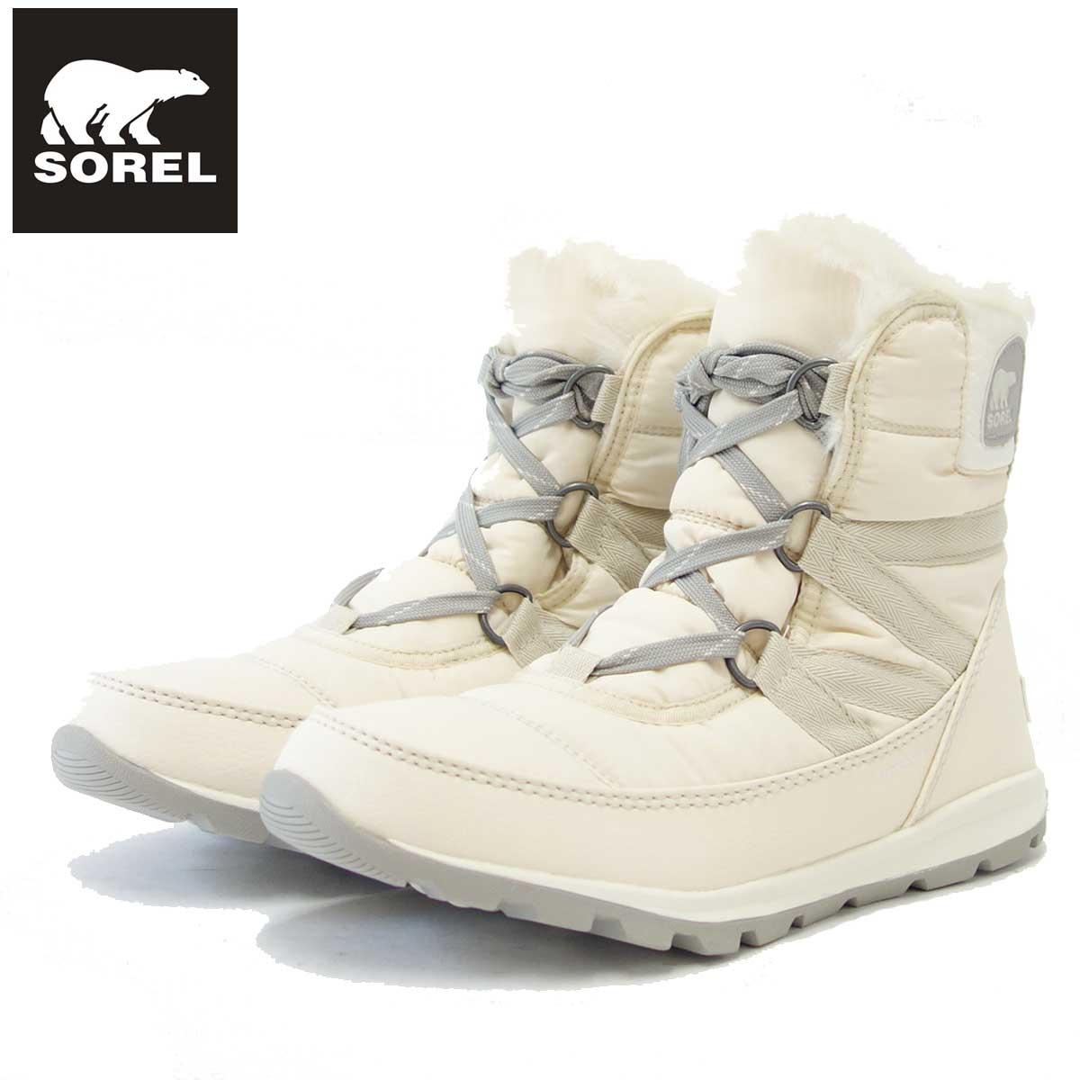 ソレル SOREL NL 2776(レディース) ウィットニーショートレース:Fawn (920) 保温性・撥水性抜群の快適ウィンターブーツ 「靴」