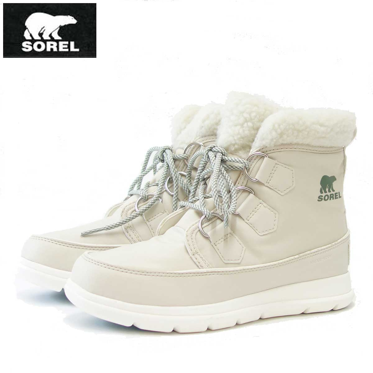 ソレル SOREL NL 3040(レディース) エクスプローラーカーニバル:Fawn (920) 防水・軽量ショートブーツ「靴」