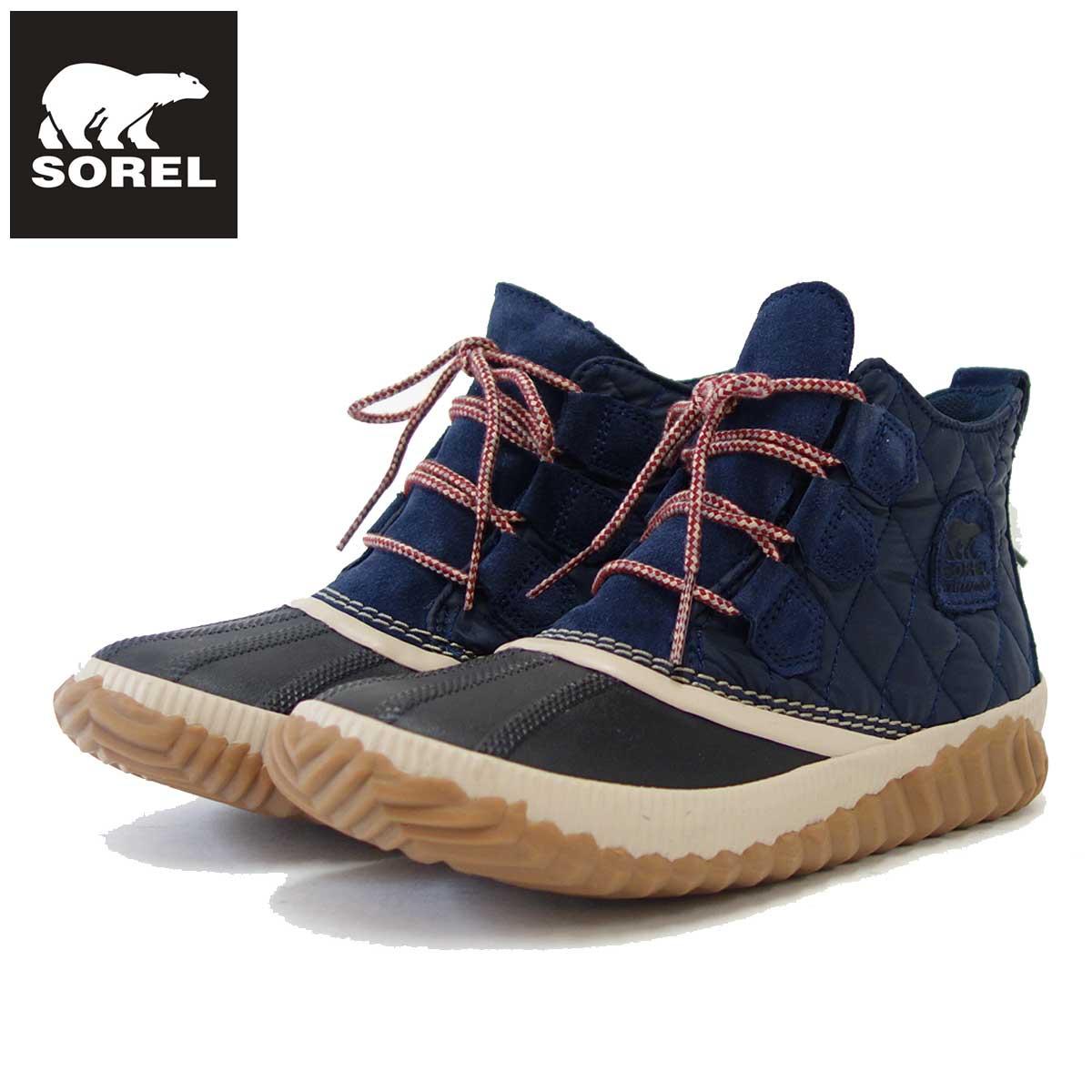 ソレル SOREL NL 3152(レディース) アウトアンドアバウト 2 キャンプ:ネイビー (464) 保温性・撥水性抜群の快適ウィンターブーツ 「靴」