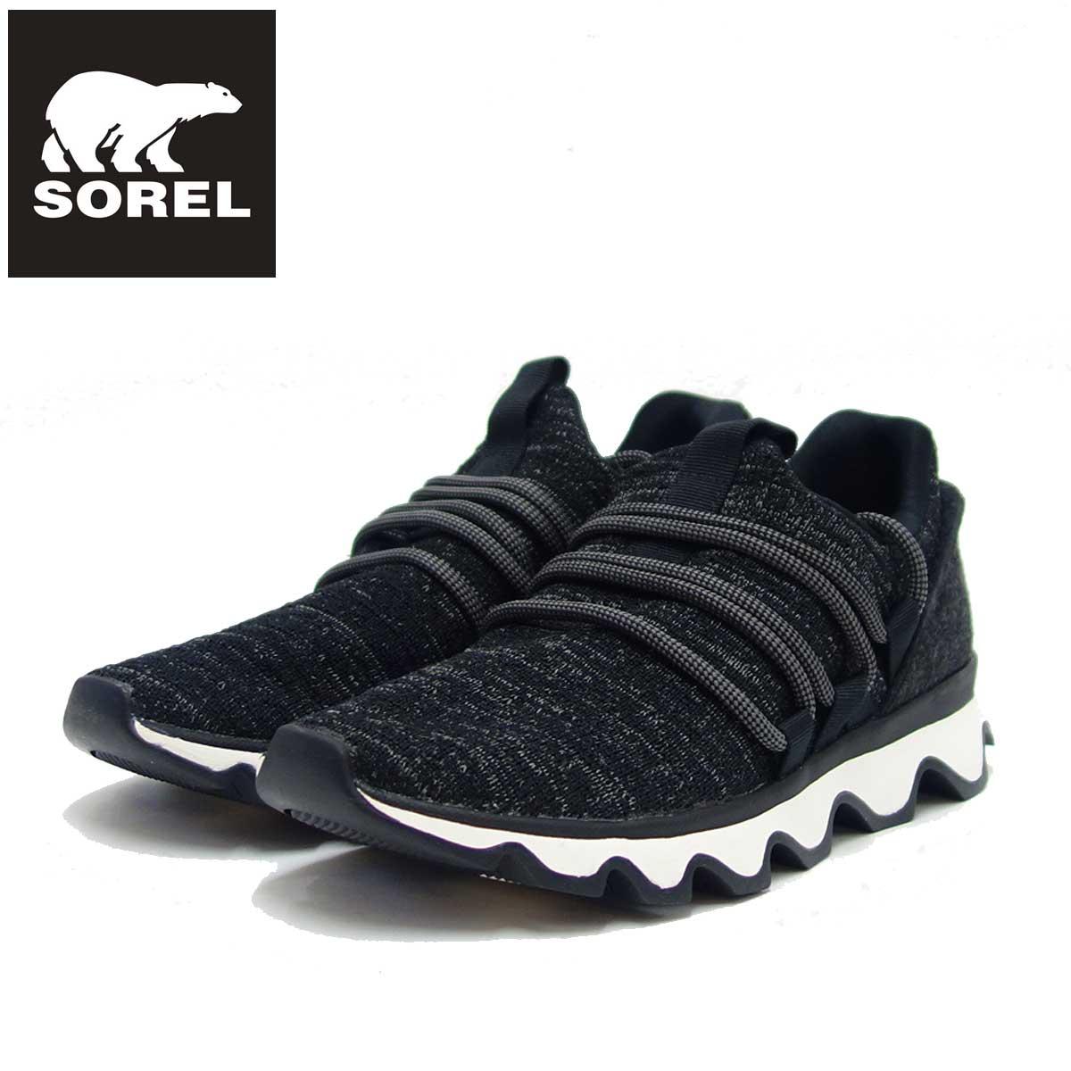 ソレル SOREL NL 3227 (レディース) キネティックレース:ブラック (011) スリッポンスニーカー 「靴」