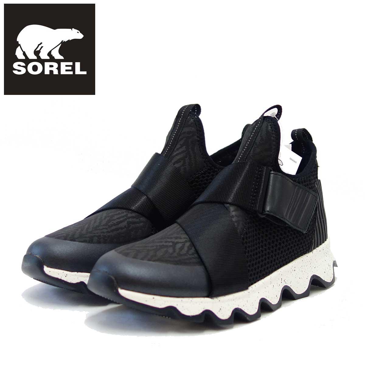 ソレル SOREL LL 3507 (レディース) キネティックスニーク:ブラック (010) スリッポンスニーカー 「靴」