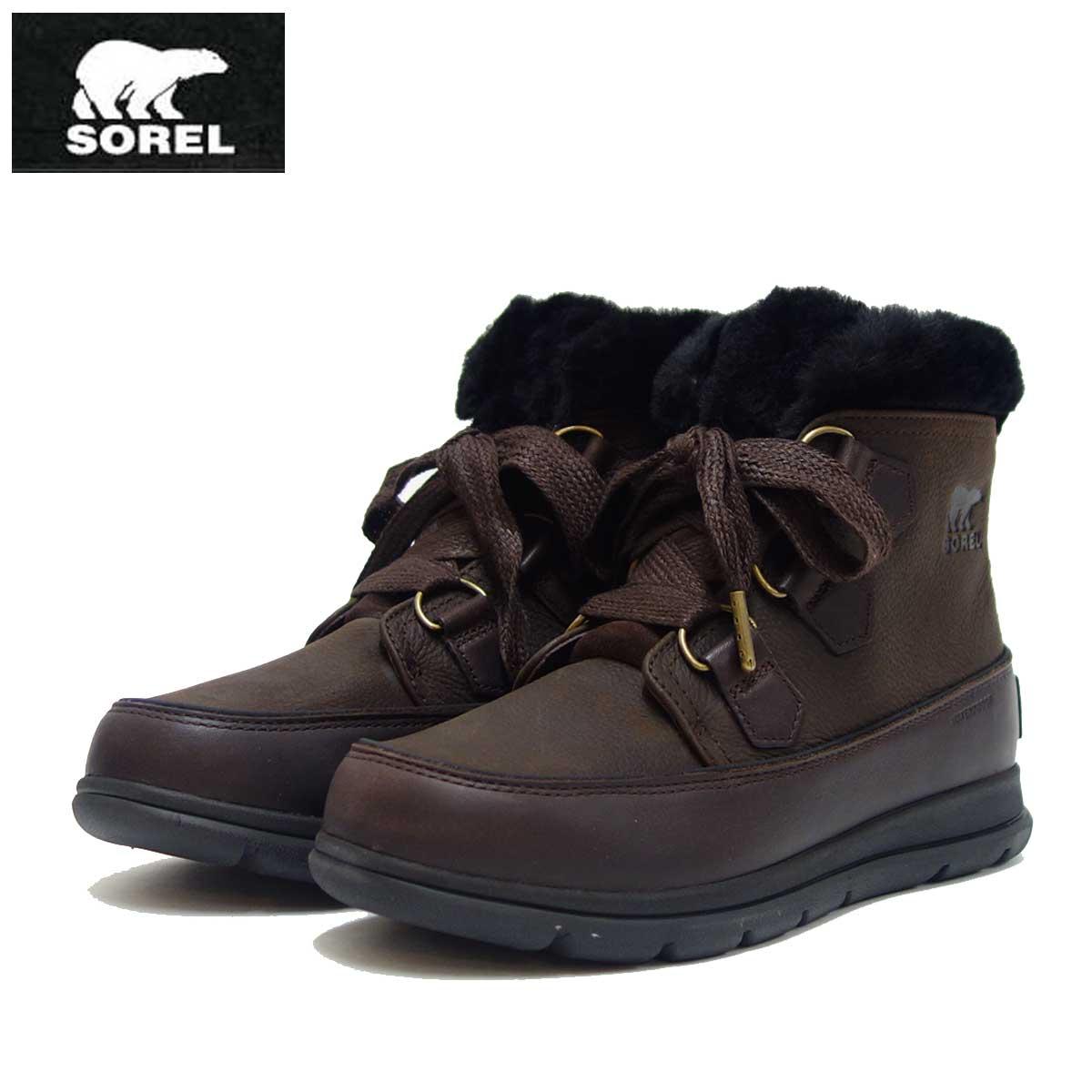 ソレル SOREL LL 5326(レディース) エクスプローラーラックス:CATTAIL (908) 防水・天然皮革ショートブーツ「靴」