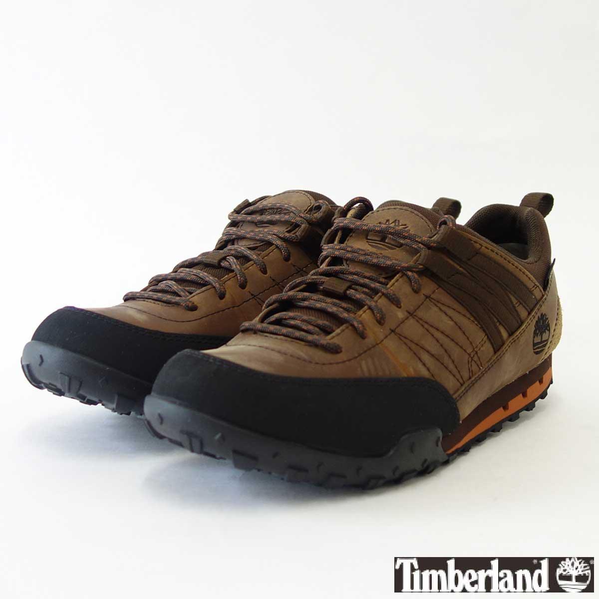 ティンバーランド Timberland ローレザー ウィズ ゴアテックスメンブレン A116E ミディアムブラウン フルグレイン(メンズ)「靴」