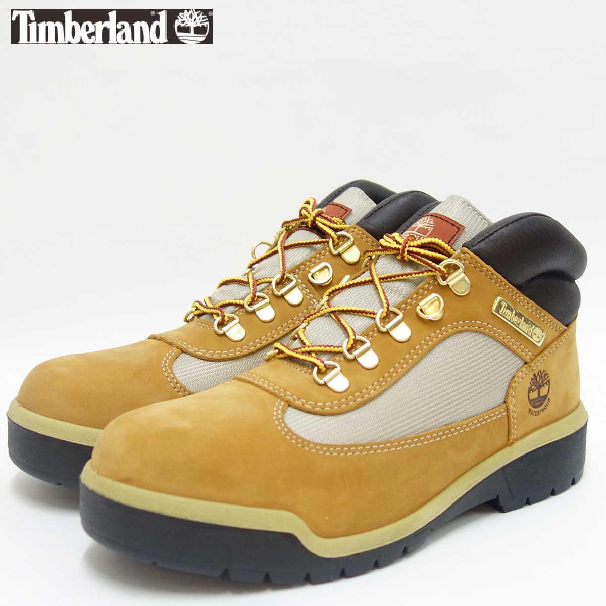 『Timberland』ティンバーランド a18ri ウィートヌバック(メンズ)フィールドブーツファブリック アンド レザー ウォータープルーフ『靴』
