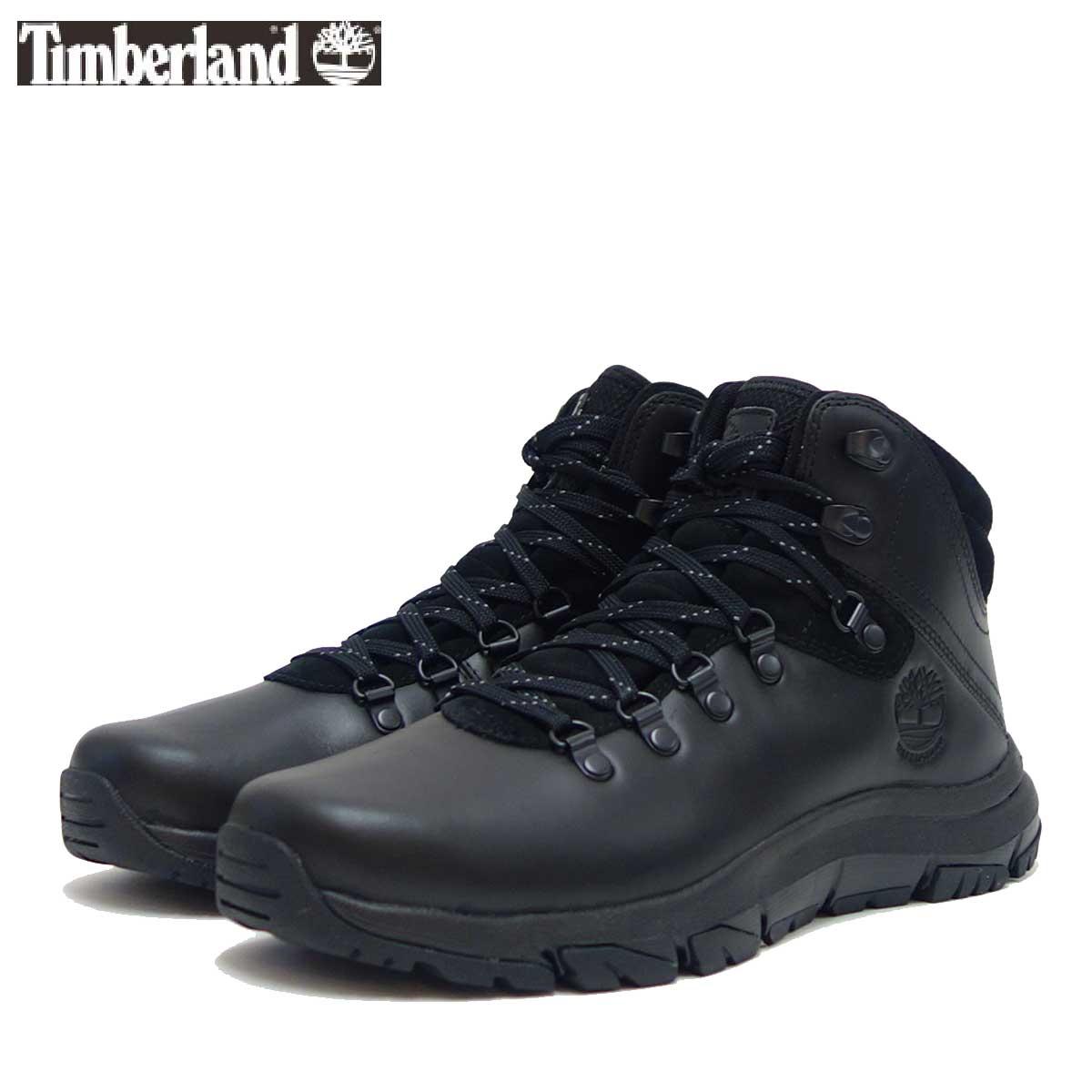 Timberland ティンバーランド a1zej ギャリソン フィールド ウォータープルーフ ミッド ハイカー (ブラック) 「靴」