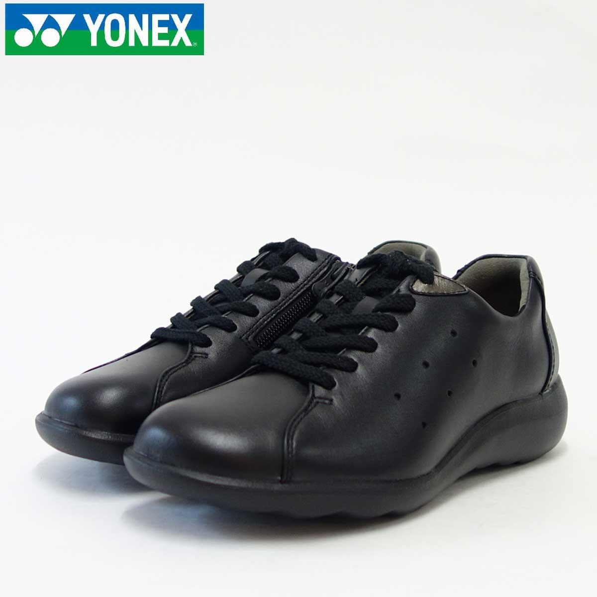 YONEX ヨネックス LC82 ブラック (レディース)軽い疲れにくいウォーキングシューズパワーバウンズソール あしなり3D「靴」