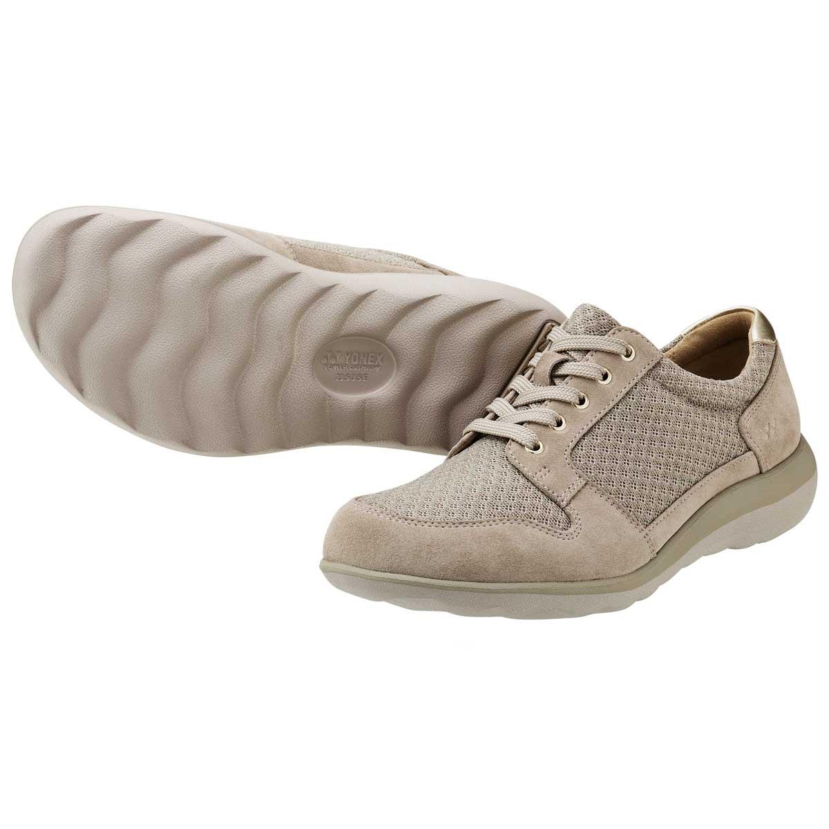 YONEX ヨネックス LC88 ベージュ (レディース)軽い疲れにくいウォーキングシューズ「靴」