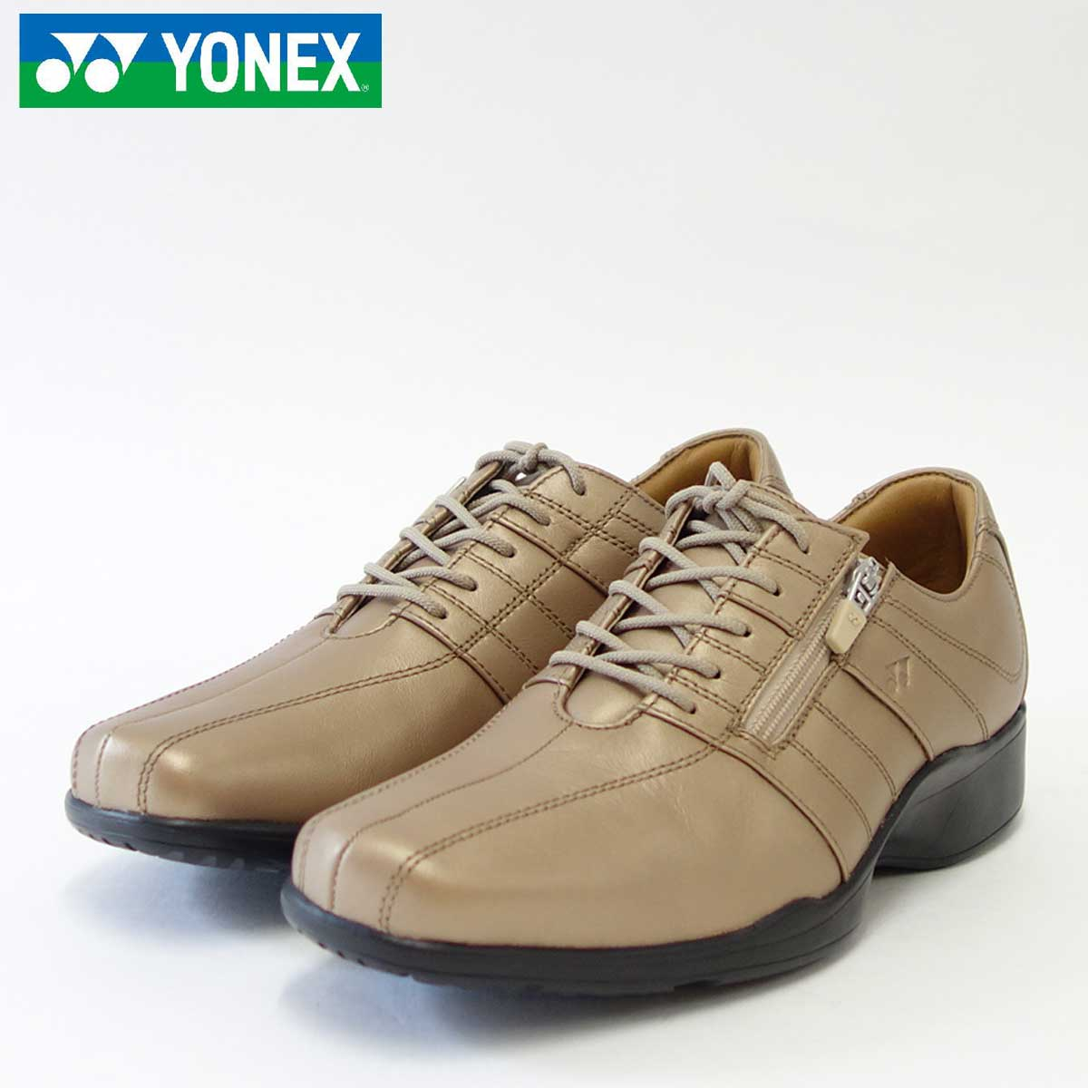YONEX ヨネックス LT01N パールベージュ(レディース)旅ウォーク 軽い疲れにくいウォーキングシューズ「靴」