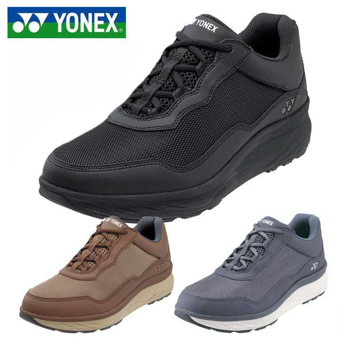 YONEX ヨネックス MC108 (メンズ)軽い疲れにくいウォーキングシューズ 「靴」
