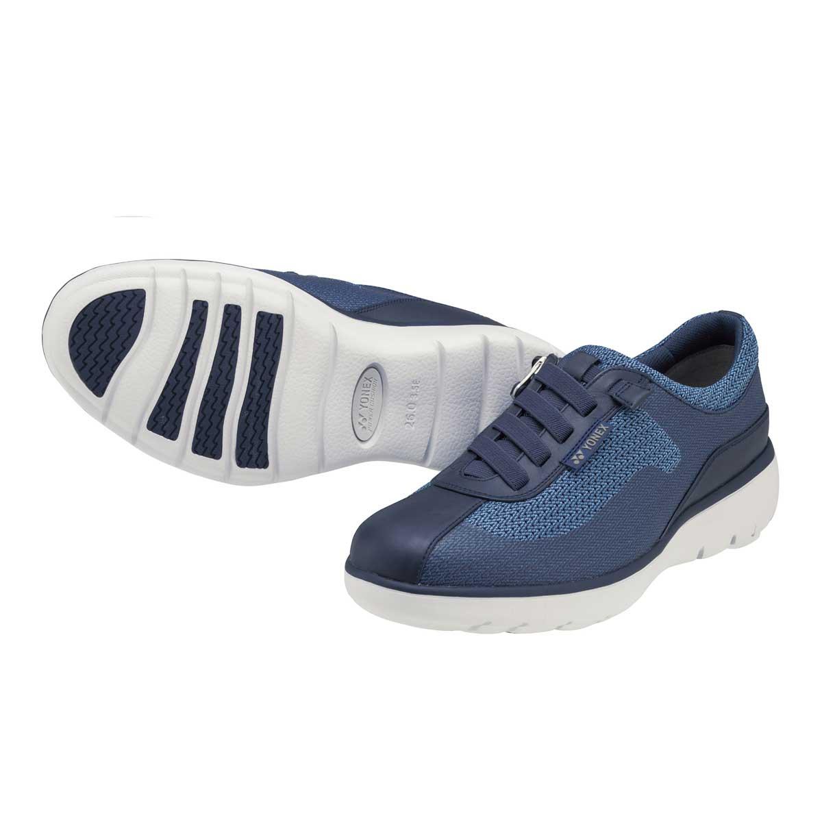 YONEX ヨネックス MC94 ネイビー (メンズ)軽い疲れにくいウォーキングシューズ「靴」