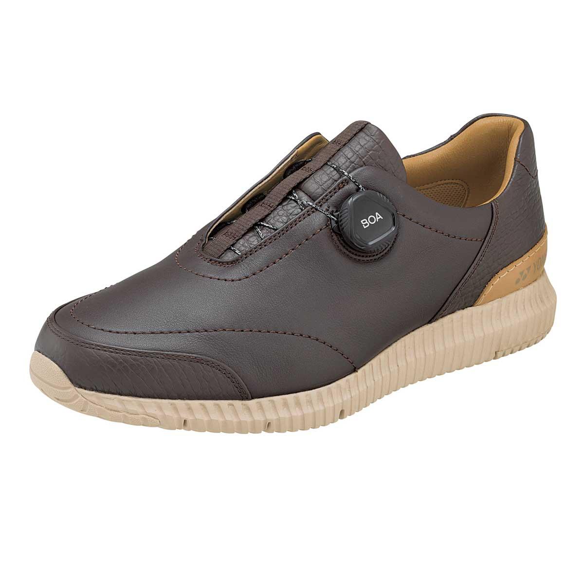 YONEX ヨネックス MC96 ダークブラウン (メンズ)軽い疲れにくいウォーキングシューズ「靴」