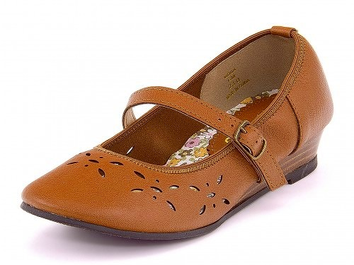 有Carnival Joy(狂欢节乔伊)女子的吊带的刻刀鞋18088骆驼
