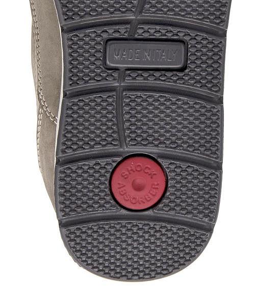 スリッポン メンズ イタリア製 本革 Uモカ クッション性 カジュアル デイリー トラベル ウォーキング イマック IMAC 302236 サンド ベージュTclFKJ1