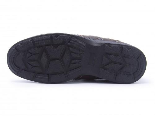 Healthy Menu(健康的菜单)男子的走路用的鞋101804暗褐色