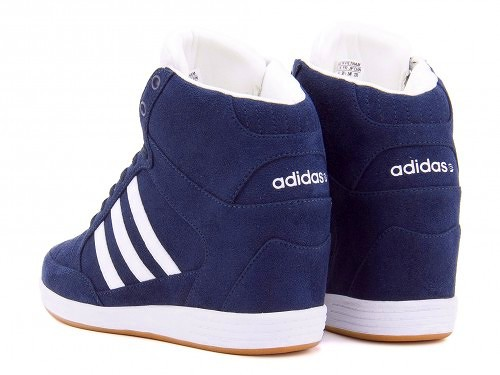 info for e17ee cf389 ... Adidas sneakers women in her high cut neosuperwedge W adidas NEO SUPER  WEDGE W F76551 College ...