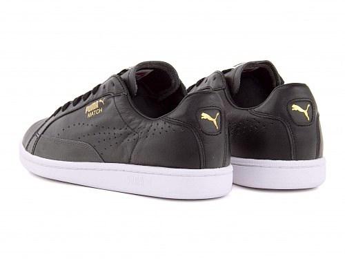 PUMA womens lowcut sneakers black match 74 PUMA MATCH 74 358673 black   white