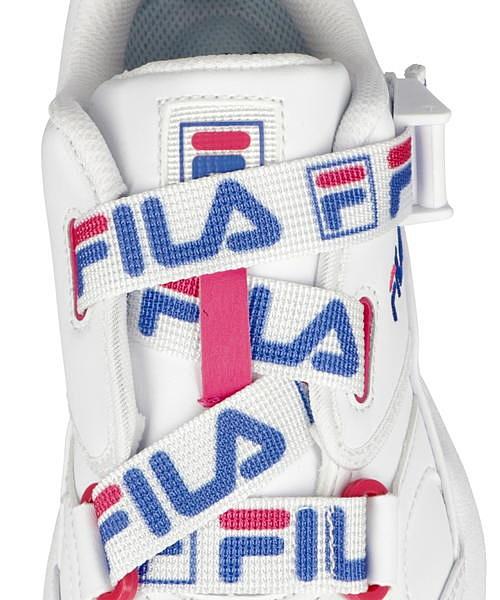 フィラ FILA ファストチャージSL FAST CHARGE SL ホワイト ブルー マゼンタ ダッドシューズ スニーカー クッション性 美脚 カジュアル デイリー スポーツ ウォーキング F0462vmO8Nwn0
