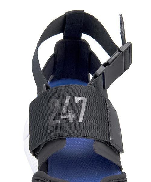 ニューバランス サンダル スニーカー レディース WS247S クッション性 美脚 B カジュアル デイリー スポーツ ウォーキング WS247S new balance 191247 ブラック