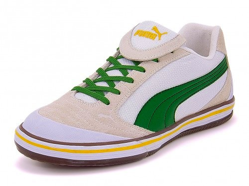 PUMA sneakers mens limited edition PUMA futsala 4 101742 18 white / Amazon / Spectra yellow